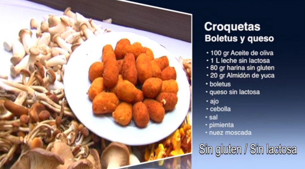 Croquetas de boletus y queso sin gluten (con vídeo)