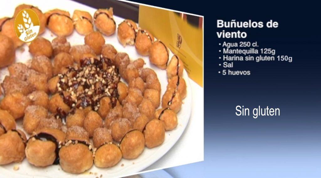 Buñuelos al viento, sin gluten (con vídeo)