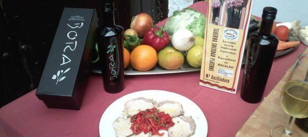 Lomo de orza al escabeche del Restaurnate Taberna Sociedad Plateros Maria Auxiliadora