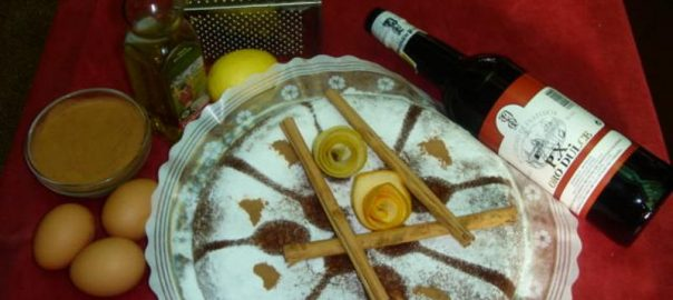 Pastel Cordobes del Restaurante Sociedad Plateros Maria Auxiliadora
