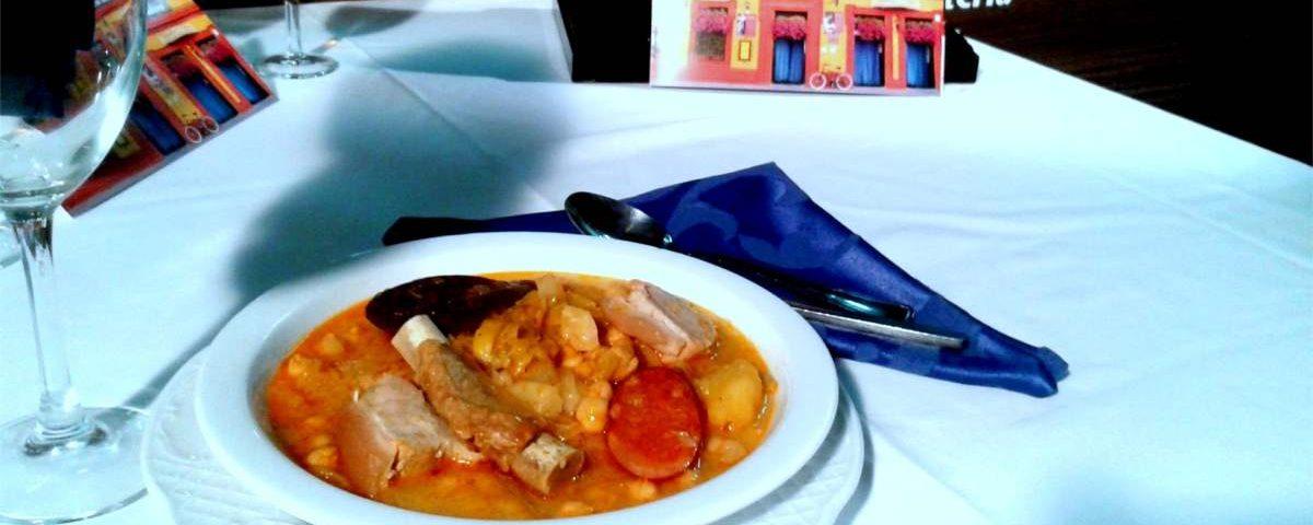 Puchero de coles Restaurante Sociedad Plateros Maria Auxiliadora