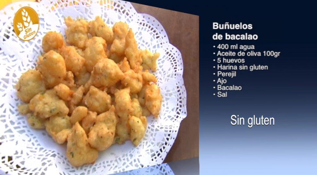 Buñuelos de bacalao sin gluten (con vídeo)