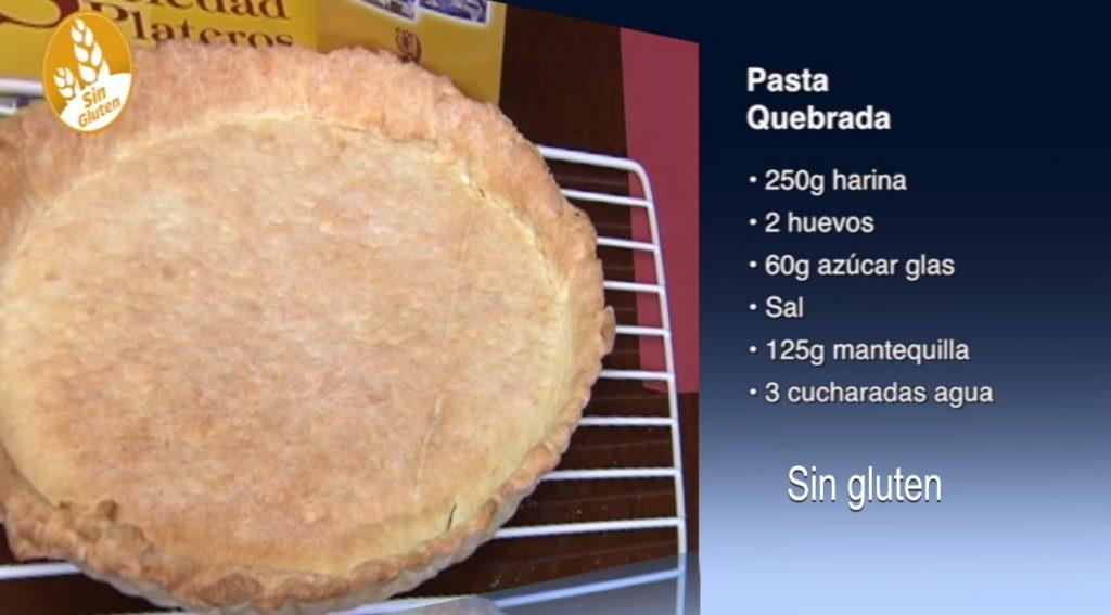 Pasta quebrada sin gluten (con vídeos)
