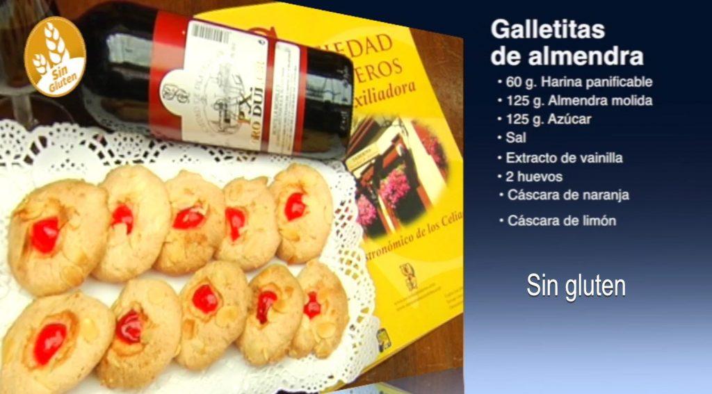 Galletas de almendra sin gluten (con vídeo)