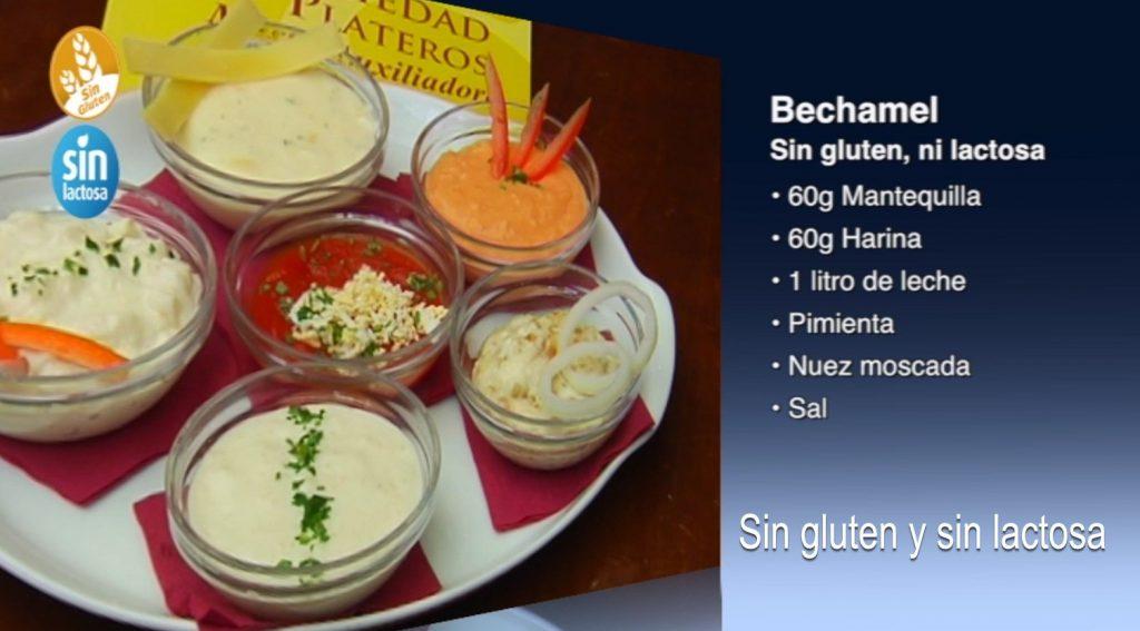 Bechamel sin gluten y sin lactosa (con vídeo)
