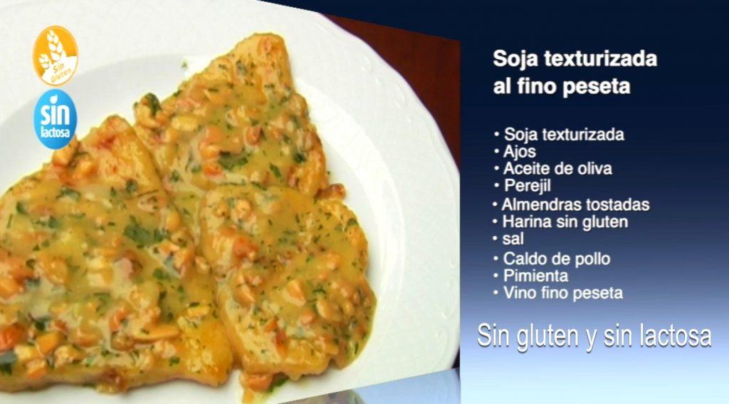 Soja texturizada al Fino Peseta sin gluten y sin lactosa (con vídeo)